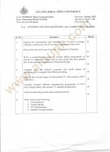 Electronic Media-II Code 5628
