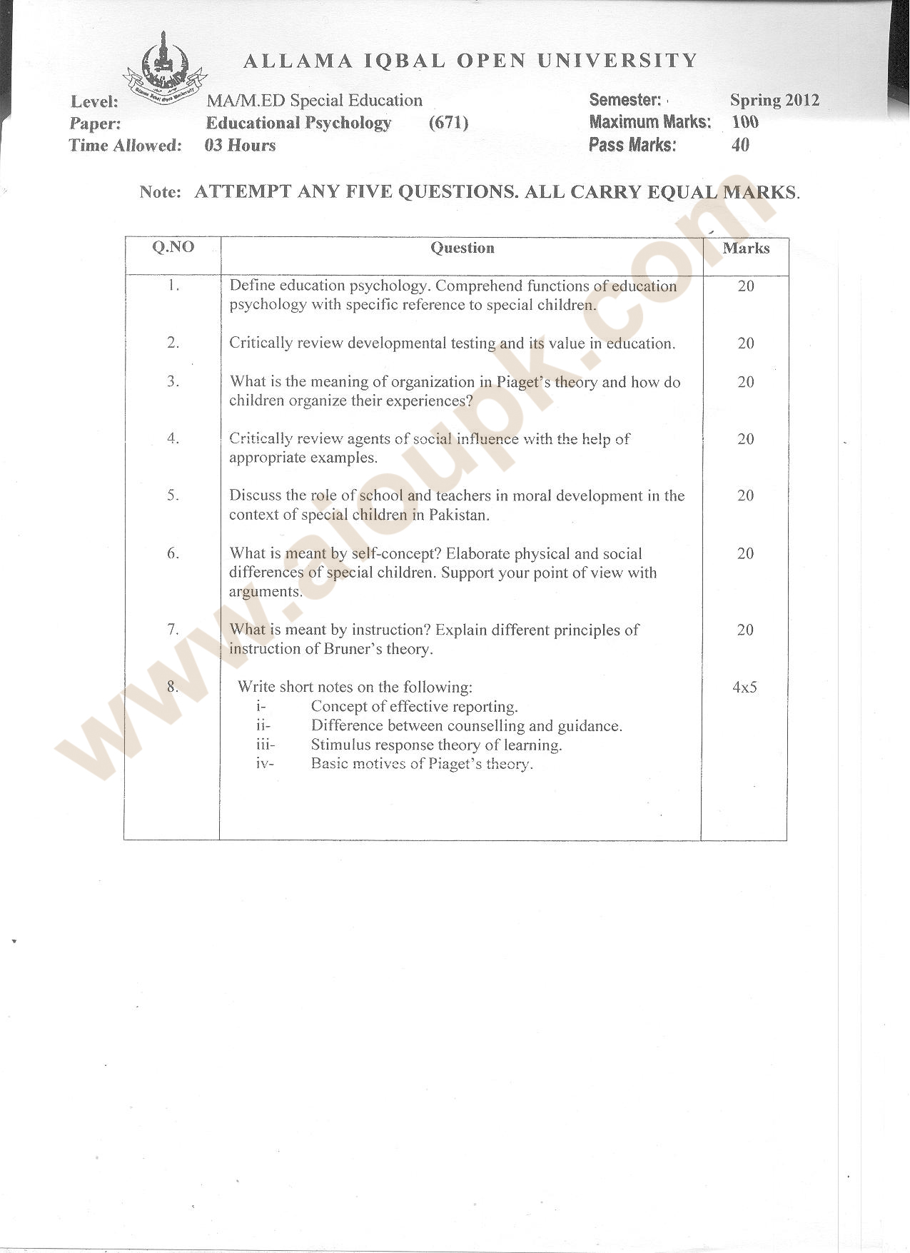 educational psychology essay Custom educational psychology essay paper a framework for an educational psychology of assessment for teaching and learning is proposed, consisting of three dimensions: epistemology and theories, the interpreter and user, and assessment characteristics.