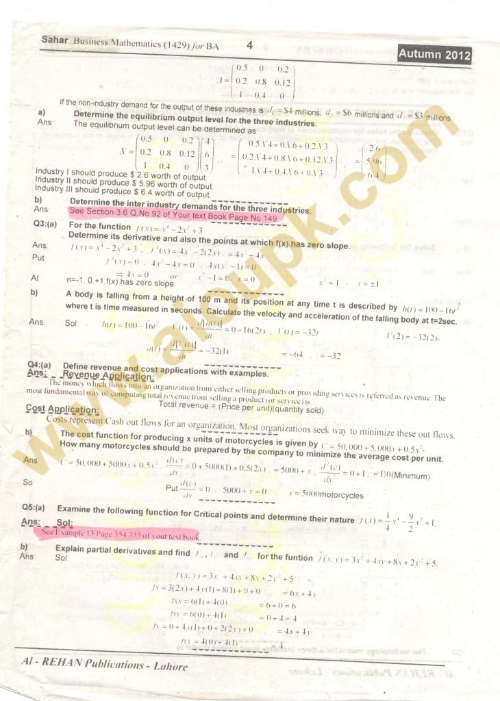 Mathematics-1429-solved- 4