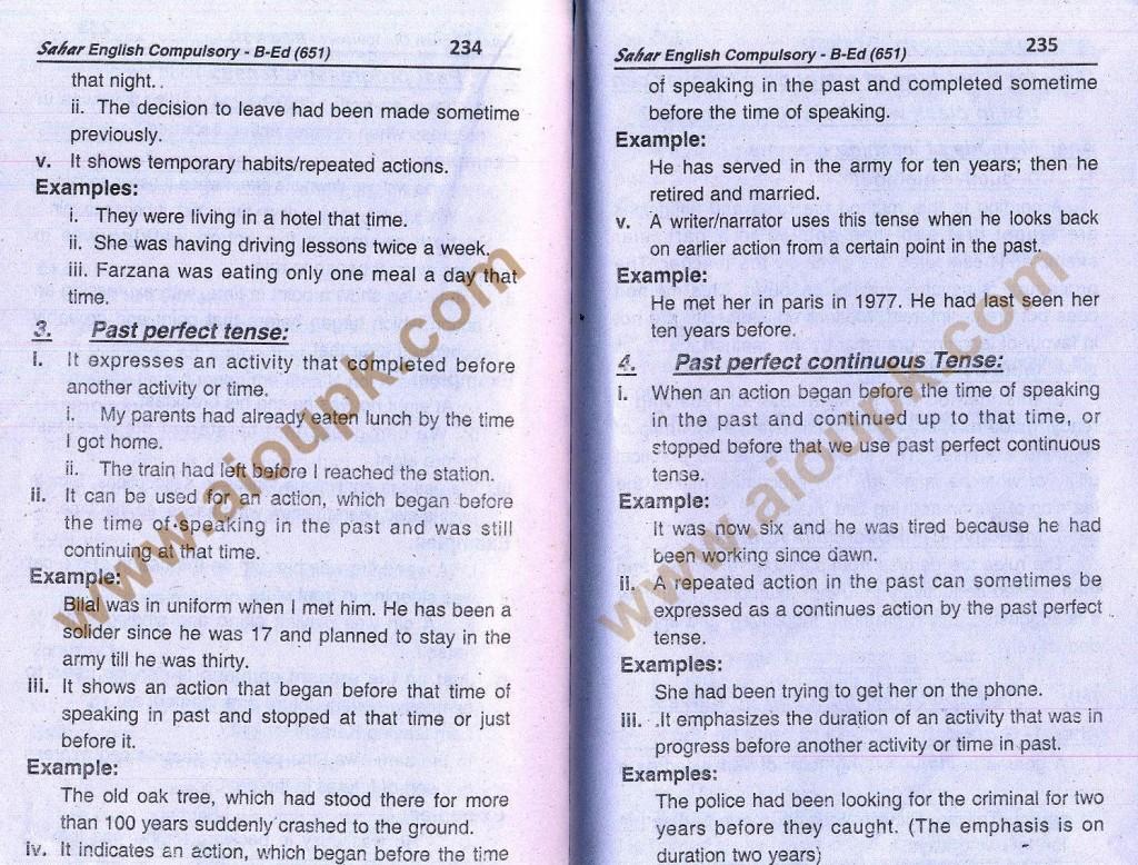 12-English B.Ed-Code 651 AIOU Solved Assignment- Autumn 2013