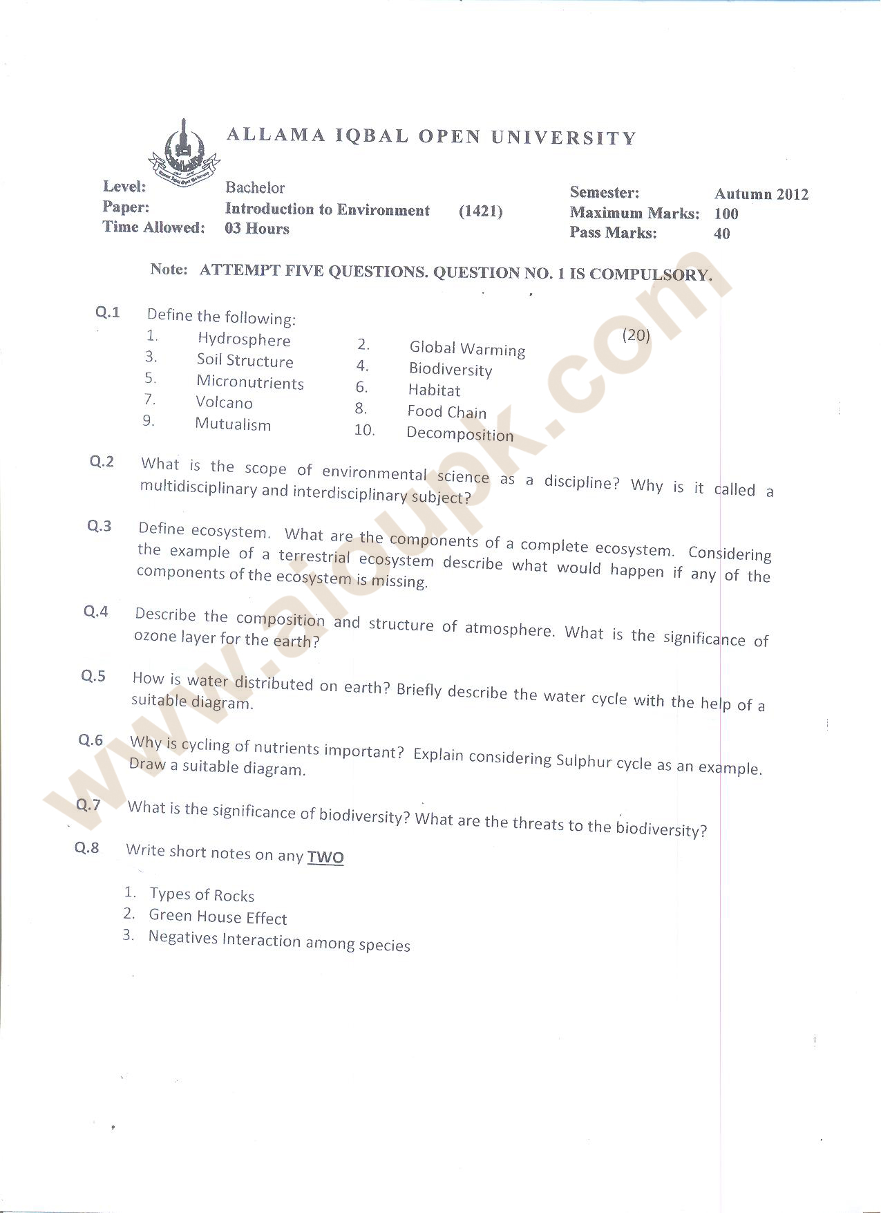 fa subjects in punjab college best custom essay service