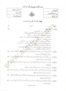 Principles of Education Code 613 AIOU Old Paper