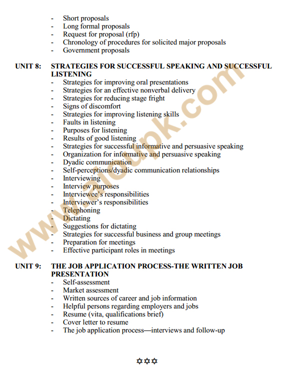 136 - Business Communication Course Outlines 4