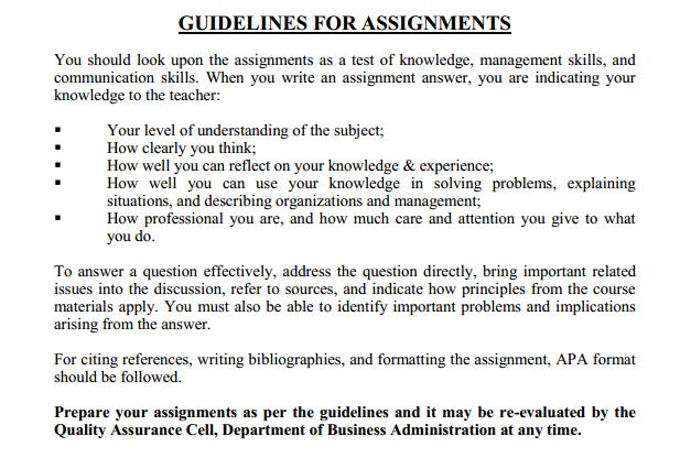 185 - Macro Economics Assignment Guidlines 3