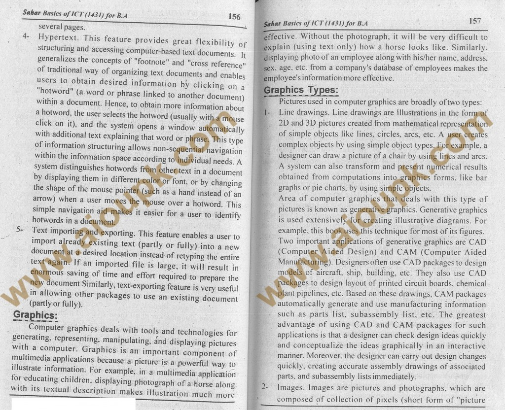 AIOU Solution of 2nd Assignment Basics of ICT Code 1431 BA ...
