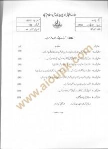 Code 452 AIOU Old Paper Mass Communication BA Spring 2013