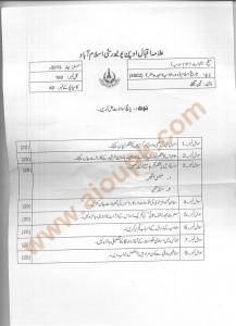 Code 4602 AIOU Old paper Islamic History - Banu Ummayyah to recent time