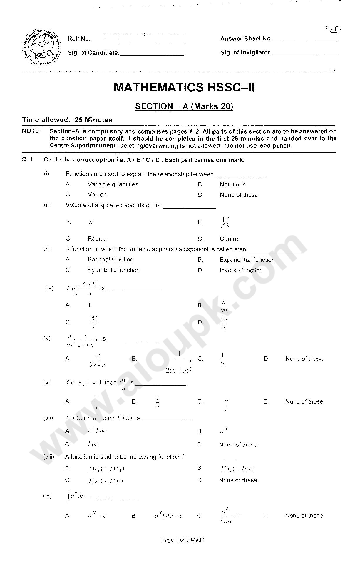 intermediate maths model papers Intermediate ii year maths ii a(telugu medium) test papers: may2014, march2014,model papers, guess papers,practice papers - books on google play.