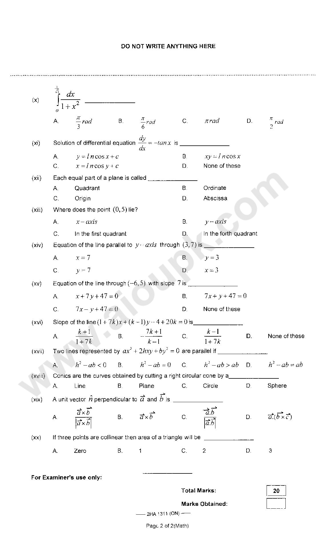 intermediate 2 accounting past papers Management accounting may 2014 2nd year paper 5 s2014 management accounting (ma) question 2 (compulsory) the following information relates to the only product.