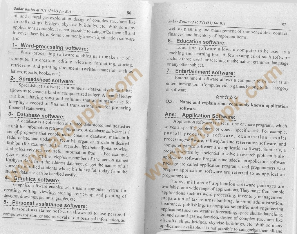 q1-b- AIOU Assignment-Code 1431-answers 2014