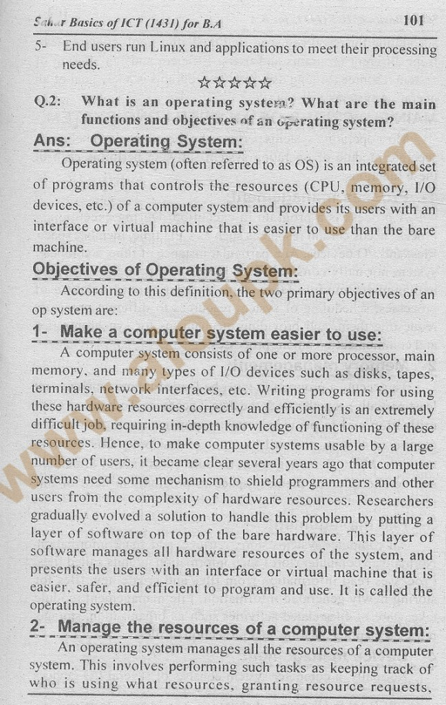 q2-a- AIOU Assignment-Code 1431-answers 2014