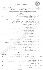 Chemistry Solved Past Papers of Annual Examination 2014