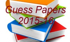 Guess Papers 2015 2015