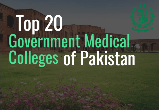 Top list Governament Medical Colleges Pakistan